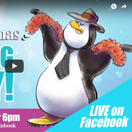 Barry the Penguin – Listening Party Live!